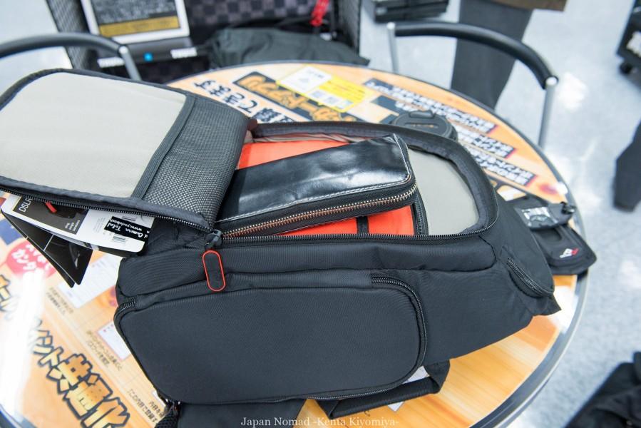 日本一周で使うカメラバッグはこれだ!一眼レフの携帯方法を考えてみた-Japan Nomad (3)