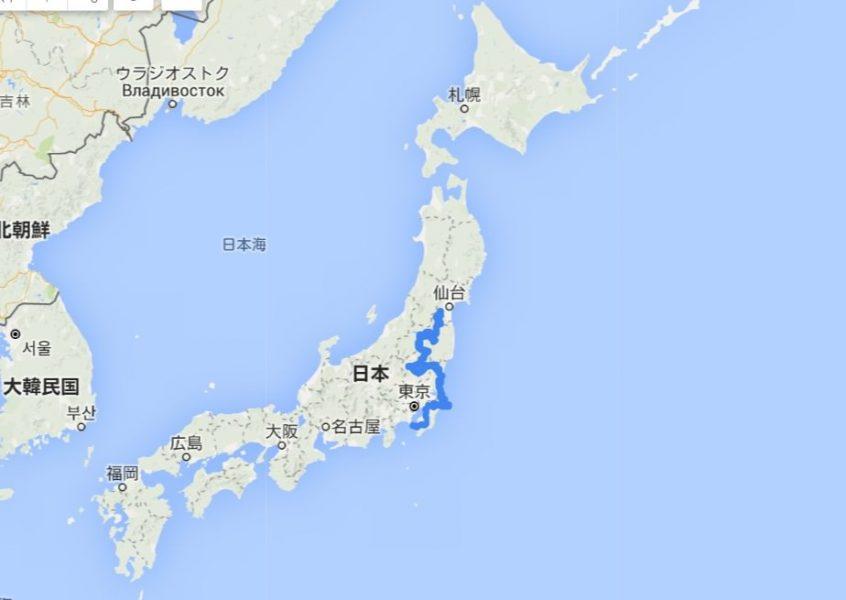 自転車日本一周(30日目データまとめ)Japan Nomad (2)