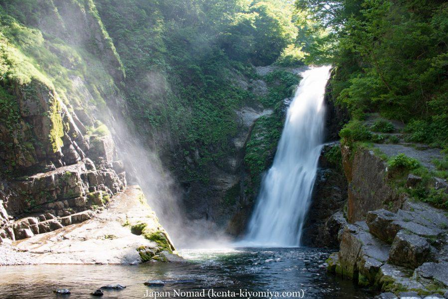 【旅32日目】日本三名瀑「秋保大滝」と仙台の牛タン