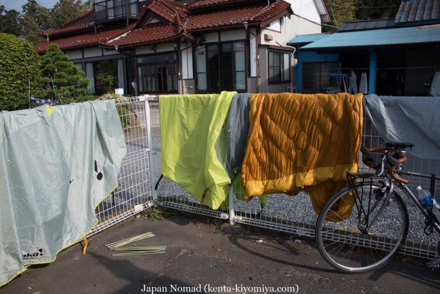 自転車日本一周35日目(ふたごの湯)-Japan Nomad (1)