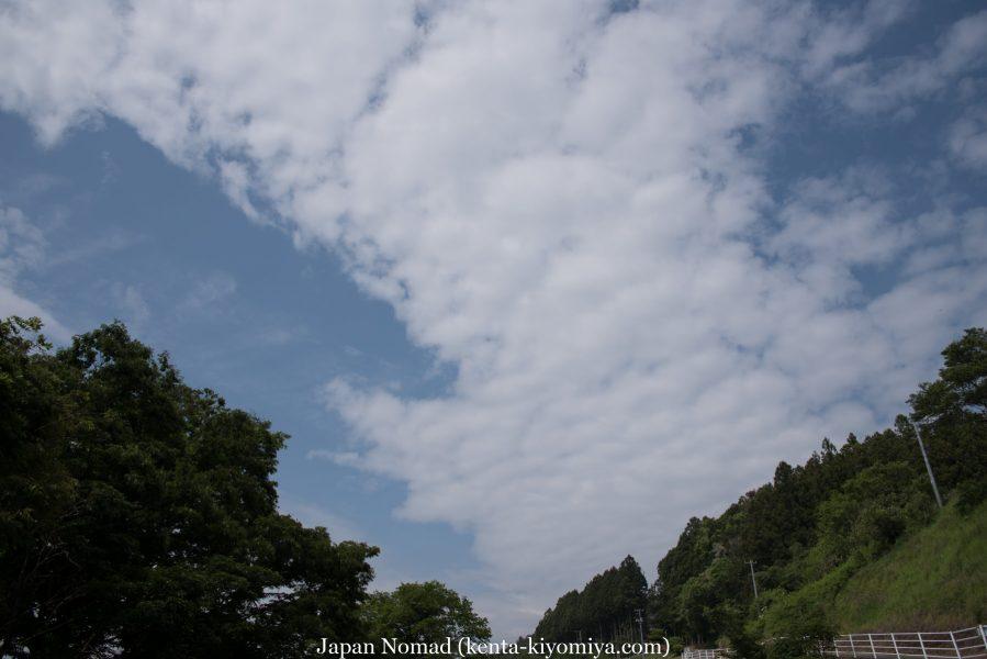 自転車日本一周35日目(ふたごの湯)-Japan Nomad (33)
