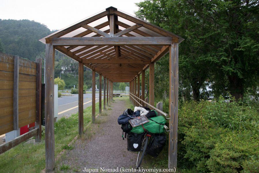 自転車日本一周35日目(ふたごの湯)-Japan Nomad (45)