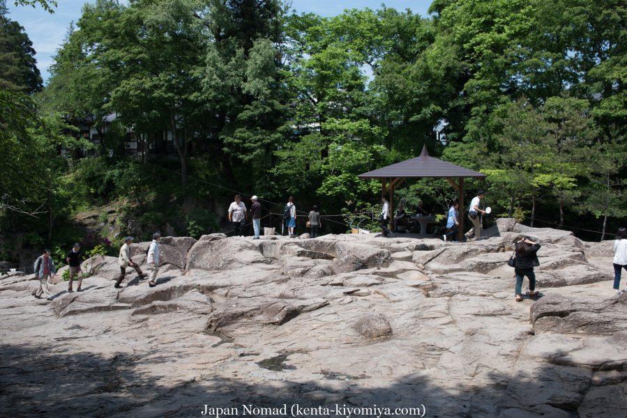 自転車日本一周37日目(厳美渓)-Japan Nomad (55)