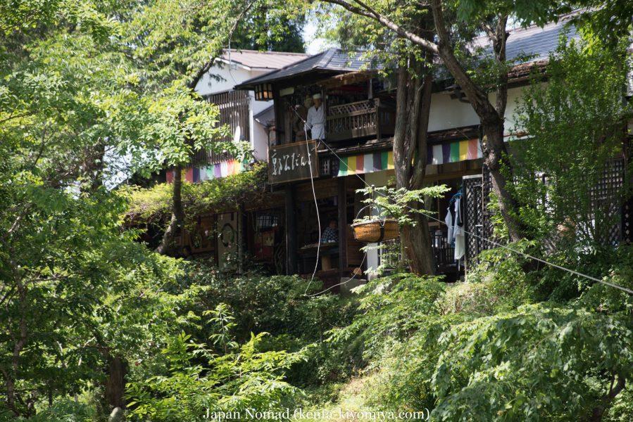 自転車日本一周37日目(厳美渓)-Japan Nomad (65)