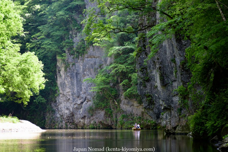 自転車日本一周38日目(猊鼻渓)-Japan Nomad  (38)