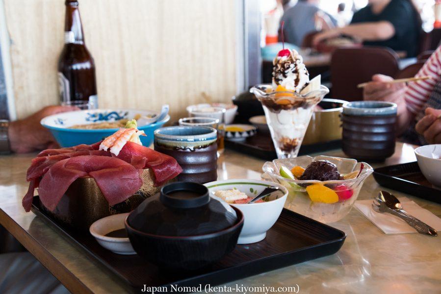 自転車日本一周39日目(マルカン・ソフトクリーム)-Japan Nomad (33)
