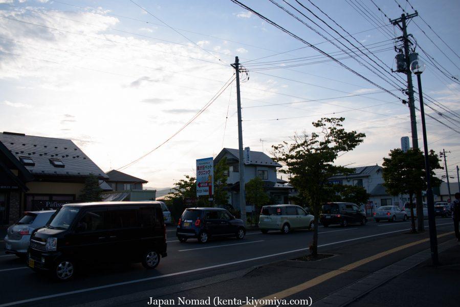 自転車日本一周39日目(マルカン・ソフトクリーム)-Japan Nomad (41)
