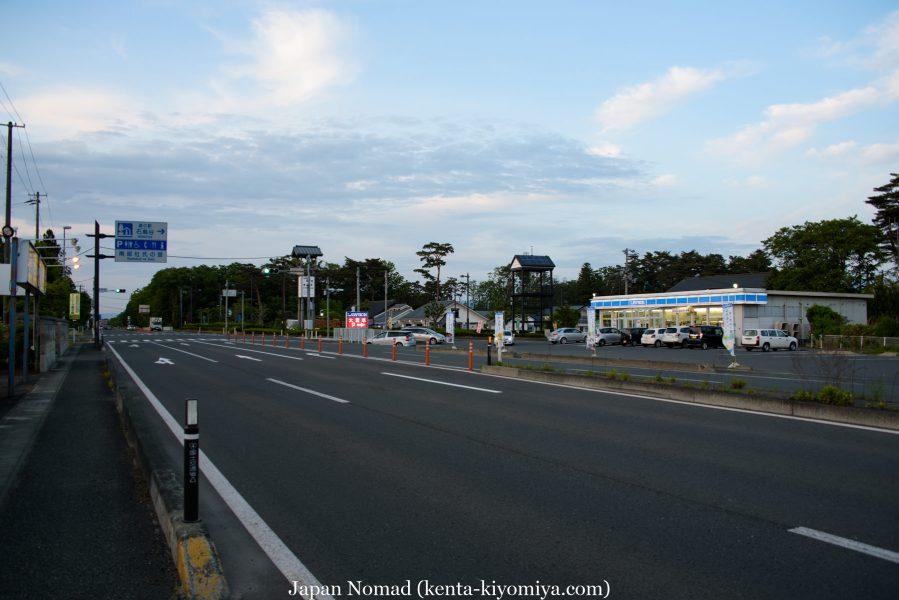 自転車日本一周39日目(マルカン・ソフトクリーム)-Japan Nomad (44)