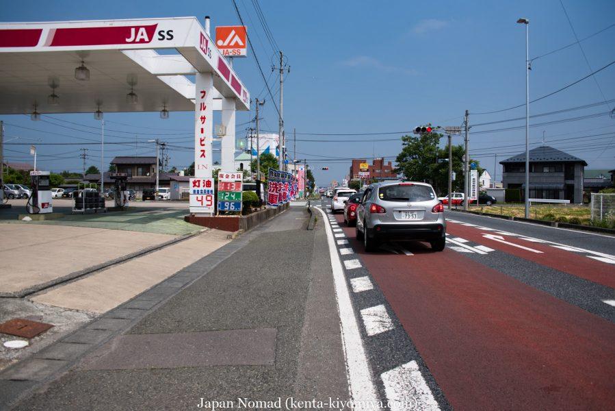 自転車日本一周39日目(マルカン・ソフトクリーム)-Japan Nomad (8)
