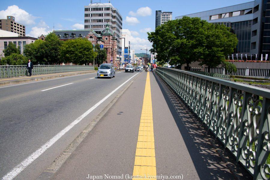 自転車日本一周40日目(わんこそば)-Japan Nomad (23)