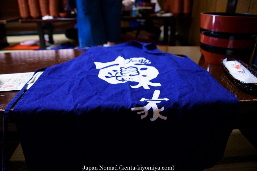自転車日本一周40日目(わんこそば)-Japan Nomad (29)