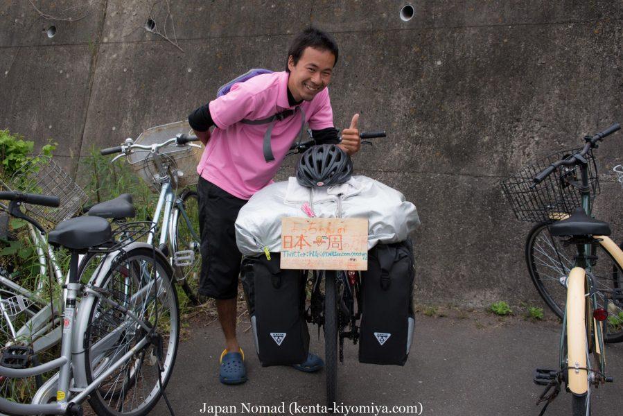 自転車日本一周34日目(松島)-Japan Nomad (14)