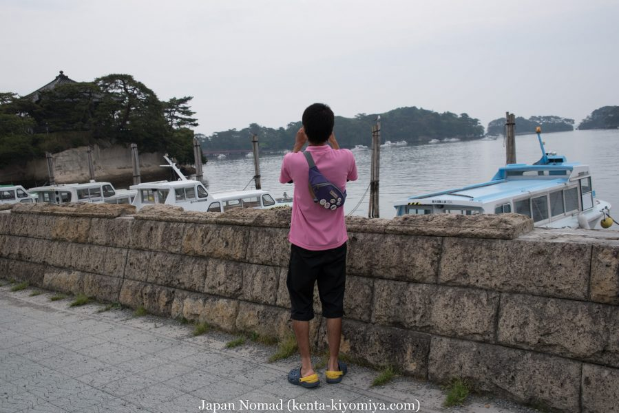 自転車日本一周34日目(松島)-Japan Nomad (16)