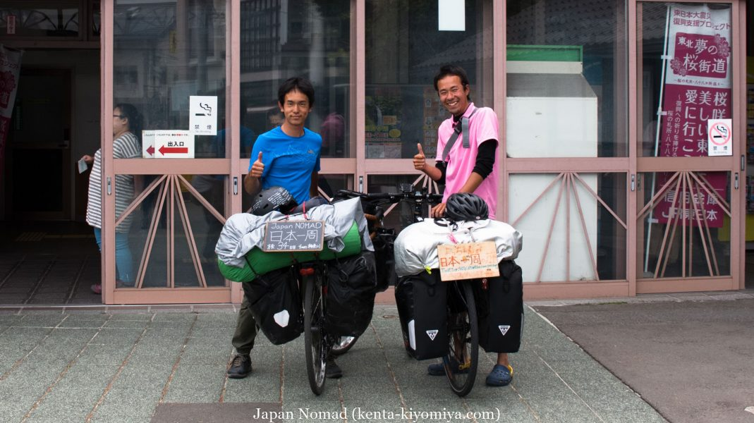 自転車日本一周34日目(松島)-Japan Nomad (28)