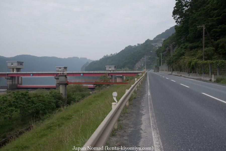 自転車日本一周35日目(ふたごの湯)-Japan Nomad (24)