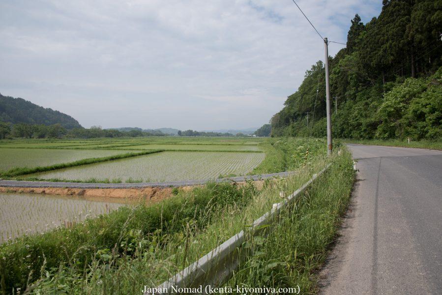 自転車日本一周35日目(ふたごの湯)-Japan Nomad (34)