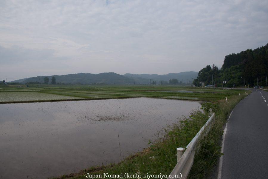 自転車日本一周35日目(ふたごの湯)-Japan Nomad (38)