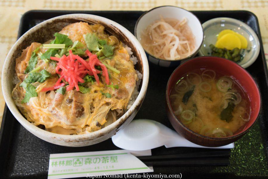 自転車日本一周36日目(油麩丼)-Japan Nomad (5)