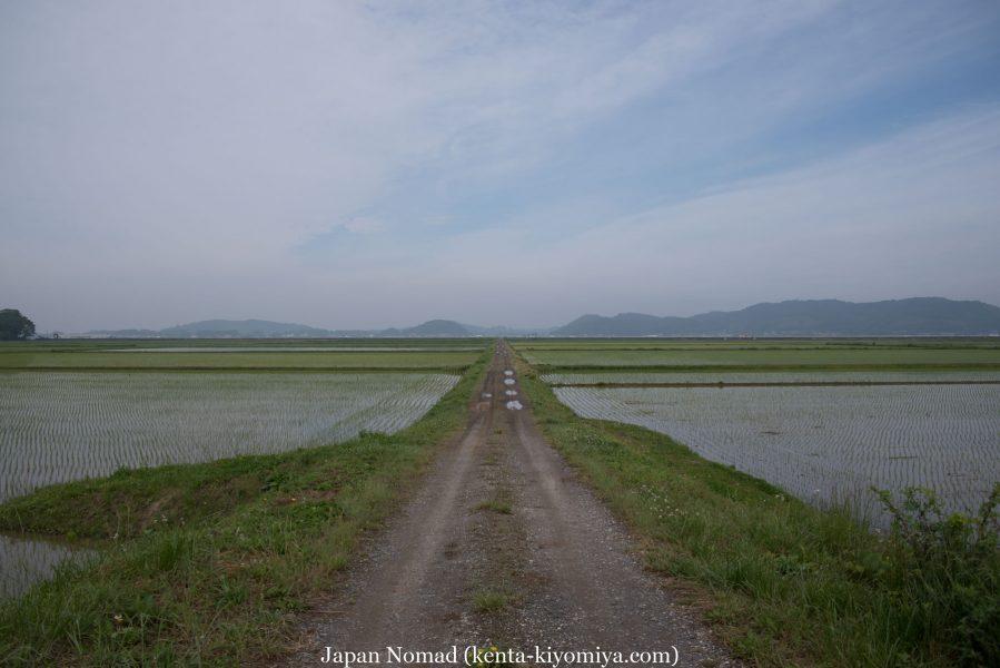 自転車日本一周37日目(厳美渓)-Japan Nomad (12)