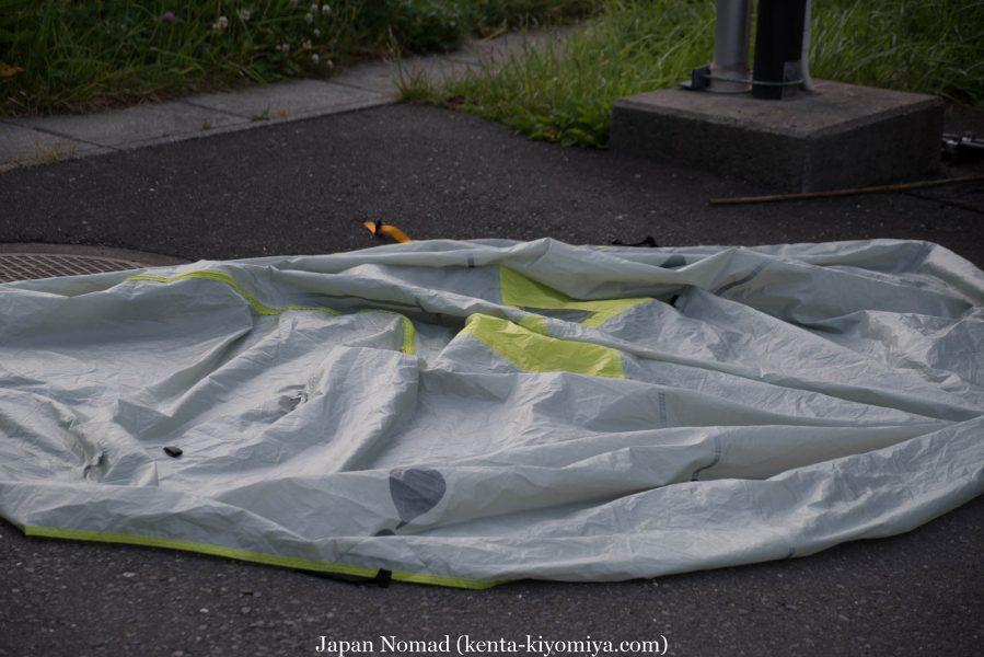 自転車日本一周37日目(厳美渓)-Japan Nomad (3)