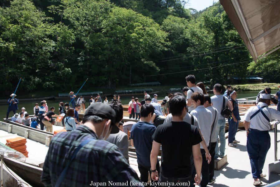 自転車日本一周38日目(猊鼻渓)-Japan Nomad  (29)
