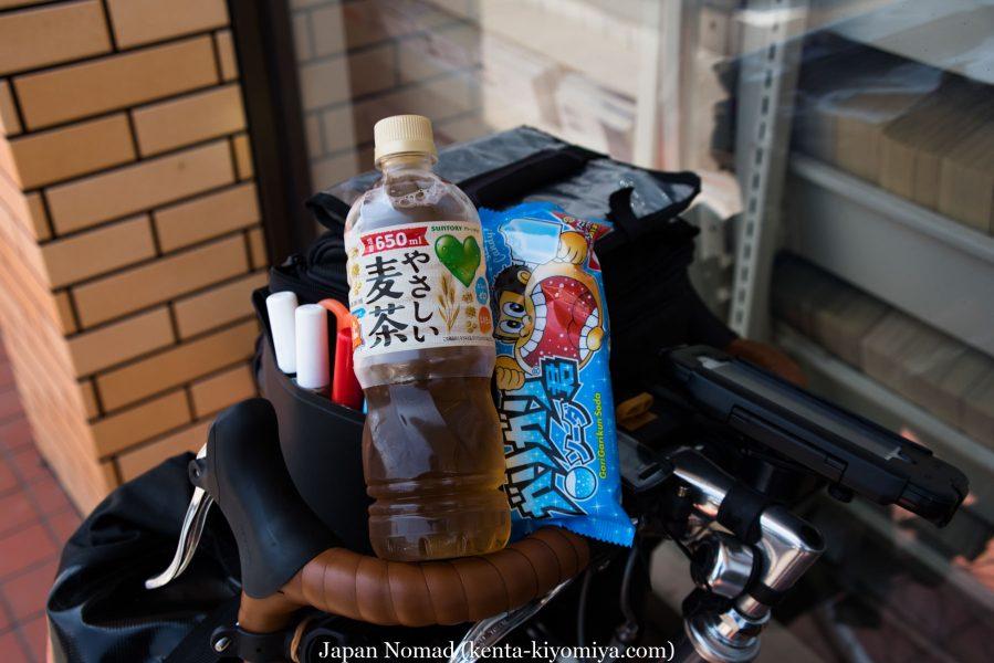 自転車日本一周39日目(マルカン・ソフトクリーム)-Japan Nomad (12)