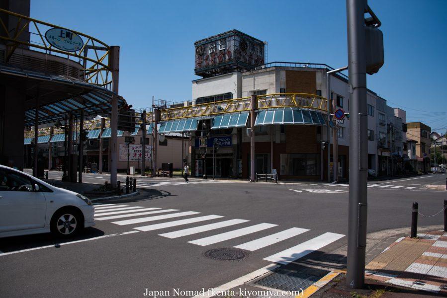 自転車日本一周39日目(マルカン・ソフトクリーム)-Japan Nomad (18)