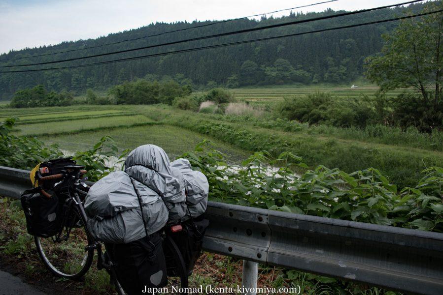 【旅49日目】R454の苦難、雨は旅人を悩ませる