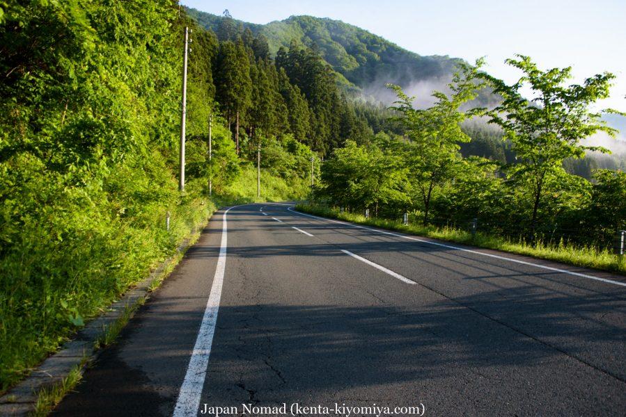 自転車日本一周43日目(笛貫の滝、早池峰山、タイマグラ)-Japan Nomad (11)