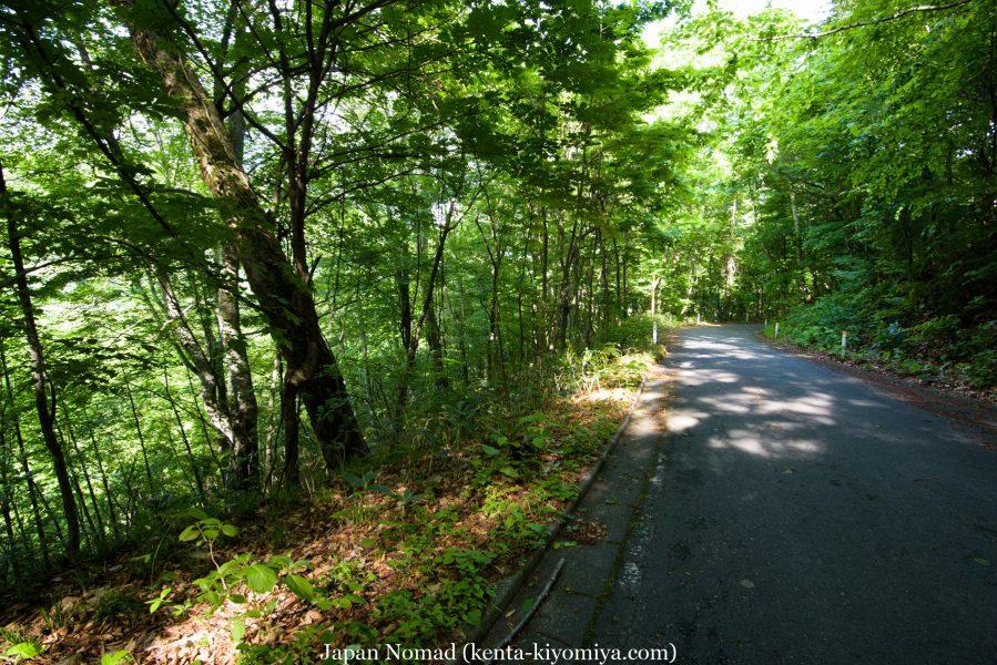 自転車日本一周43日目(笛貫の滝、早池峰山、タイマグラ)-Japan Nomad (131)