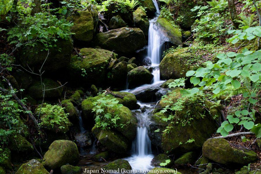 自転車日本一周43日目(笛貫の滝、早池峰山、タイマグラ)-Japan Nomad (24)