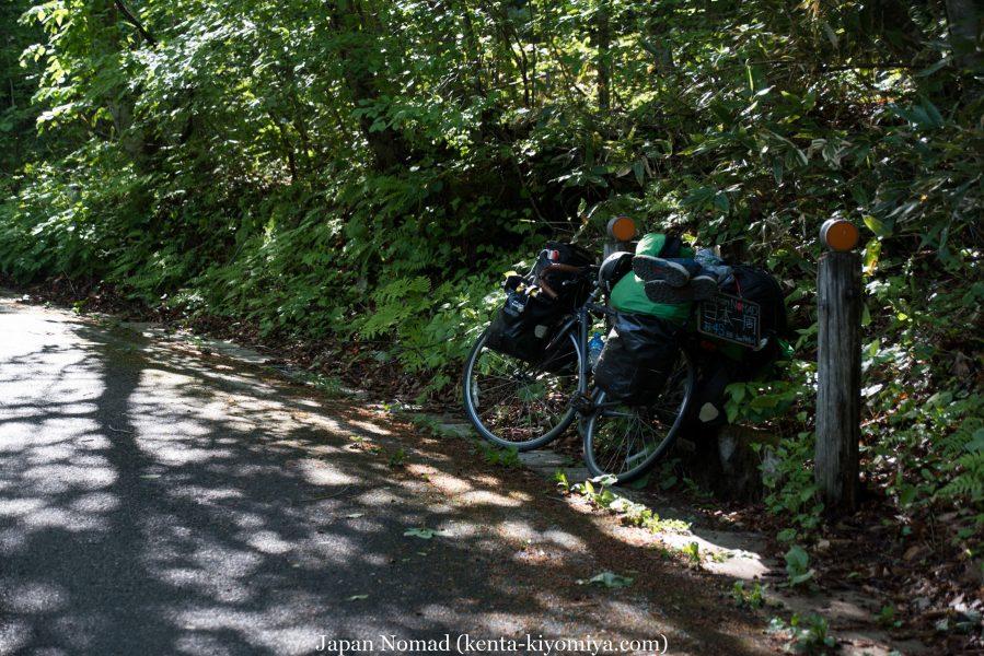 自転車日本一周43日目(笛貫の滝、早池峰山、タイマグラ)-Japan Nomad (27)