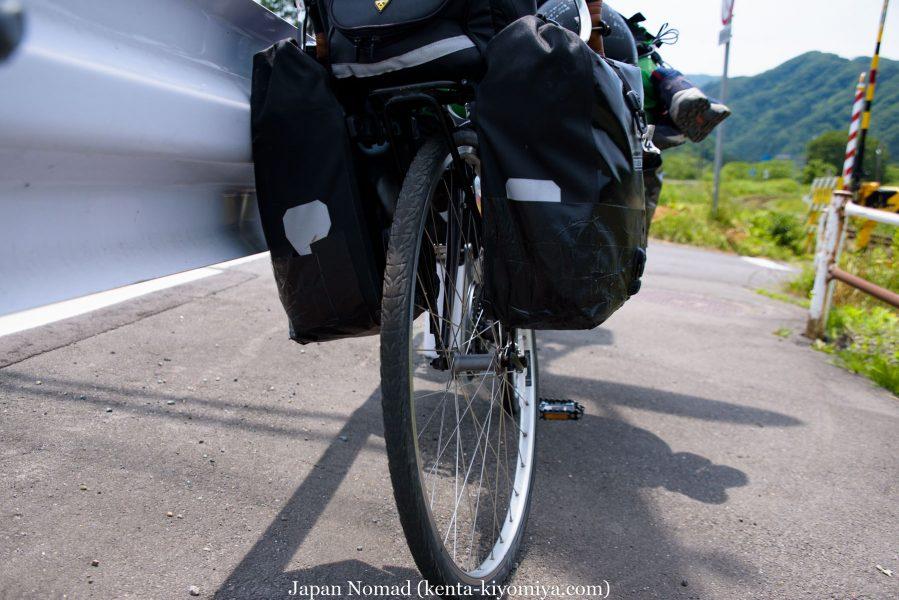 自転車日本一周44日目(自転車事故)-Japan Nomad (15)