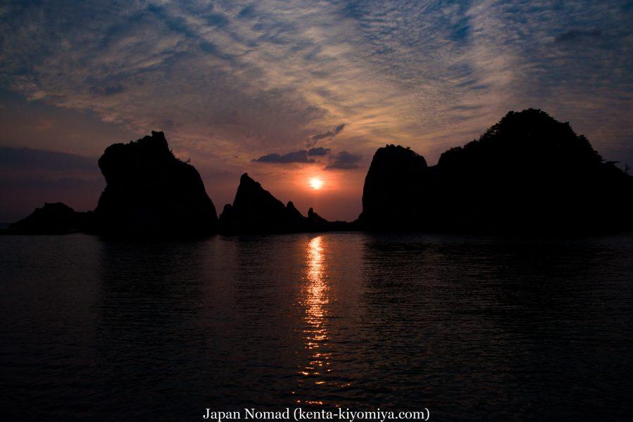 自転車日本一周45日目(浄土ヶ浜)-Japan Nomad (8)