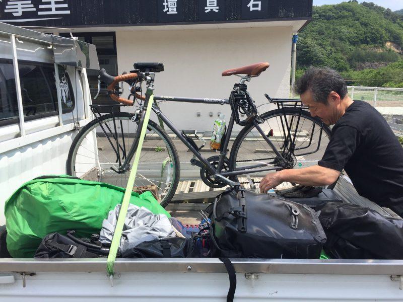 自転車日本一周45日目(自転車事故)-Japan Nomad (31)