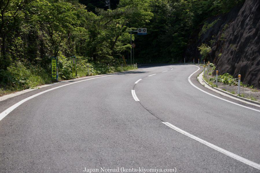 自転車日本一周47日目(北山崎)-Japan Nomad (13)