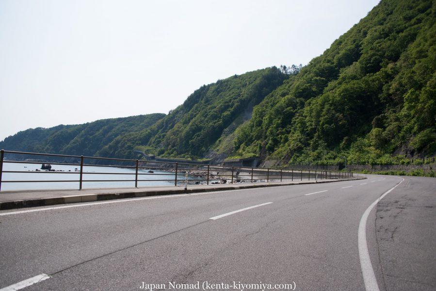自転車日本一周47日目(北山崎)-Japan Nomad (21)