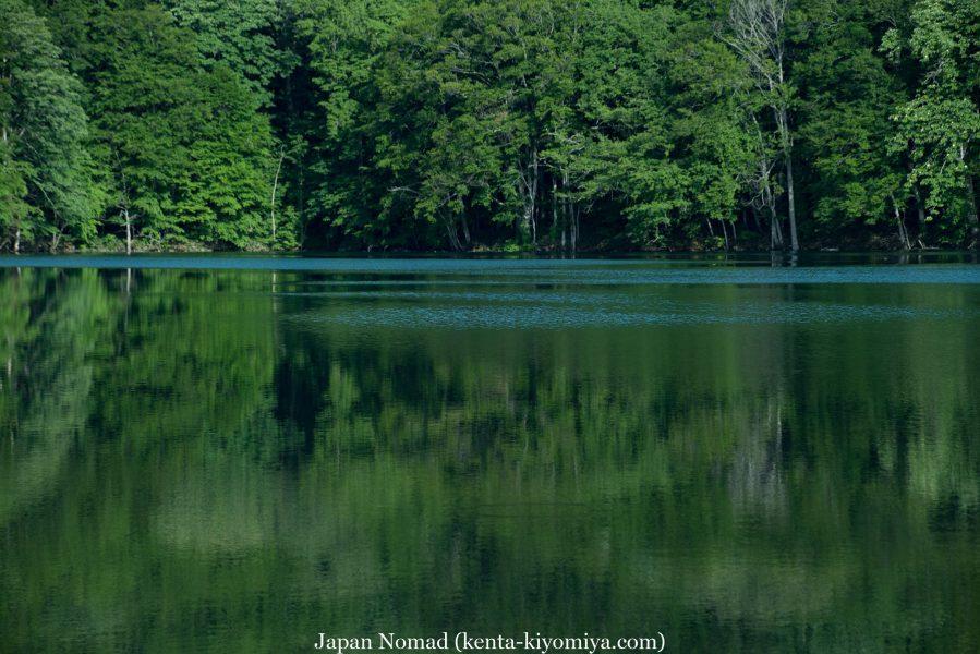 自転車日本一周51日目(蔦沼、蔦七沼)-Japan Nomad (20)