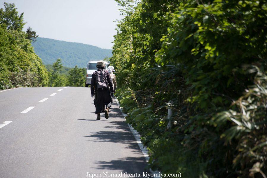 自転車日本一周51日目(蔦沼、蔦七沼)-Japan Nomad (37)