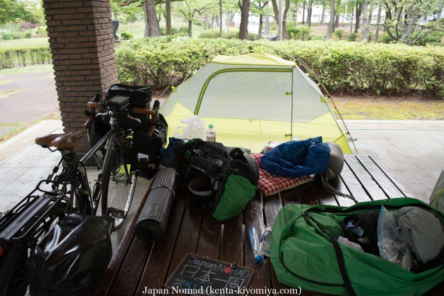 自転車日本一周53日目(青森、北海道) (3)