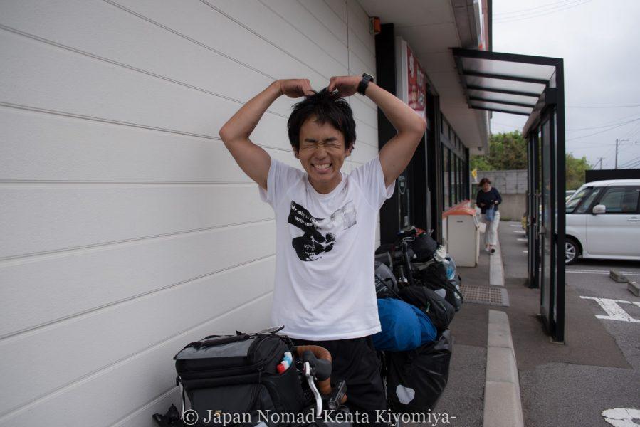 自転車日本一周58日目(北海道最南端)-Japan Nomad (11)