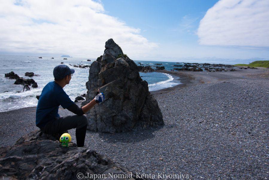 自転車日本一周58日目(北海道最南端)-Japan Nomad (33)