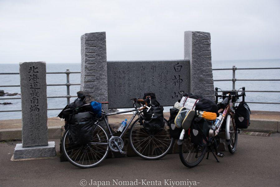 自転車日本一周58日目(北海道最南端)-Japan Nomad (8)
