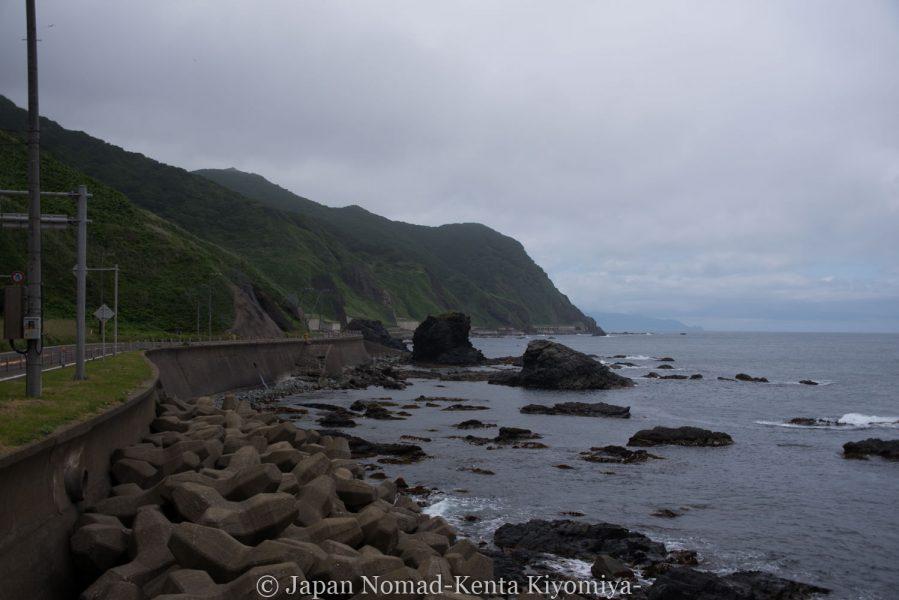 自転車日本一周58日目(北海道最南端)-Japan Nomad (9)