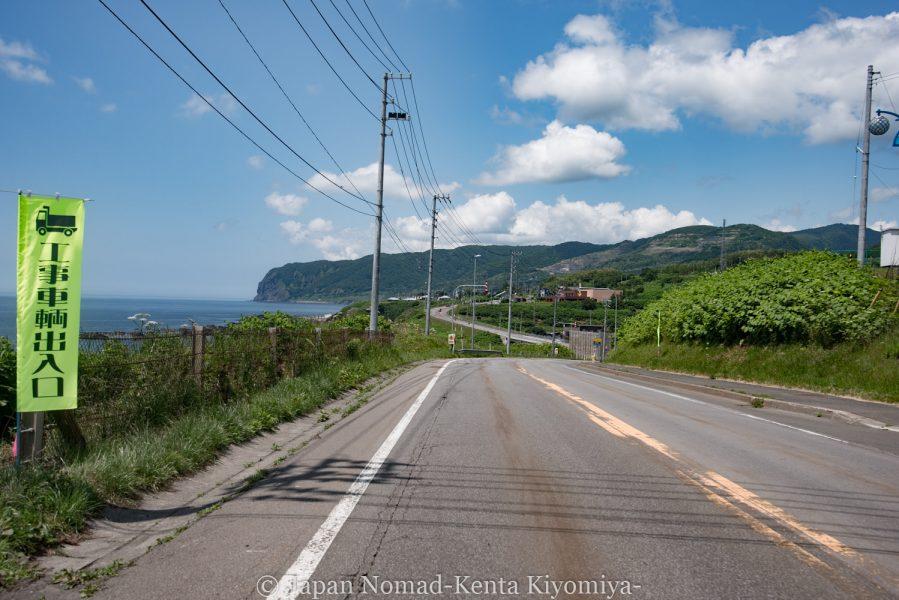 自転車日本一周62日目(神威岬)-Japan Nomad (14)