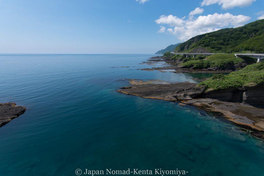 自転車日本一周62日目(神威岬)-Japan Nomad (18)