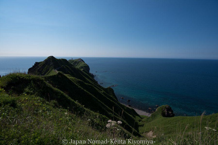 自転車日本一周62日目(神威岬)-Japan Nomad (30)