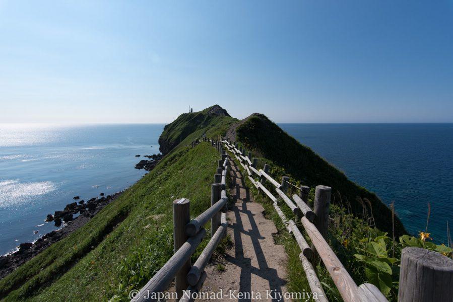 自転車日本一周62日目(神威岬)-Japan Nomad (41)
