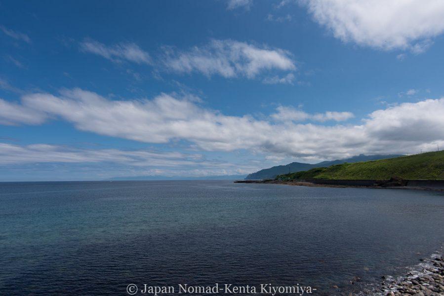 自転車日本一周62日目(神威岬)-Japan Nomad (8)