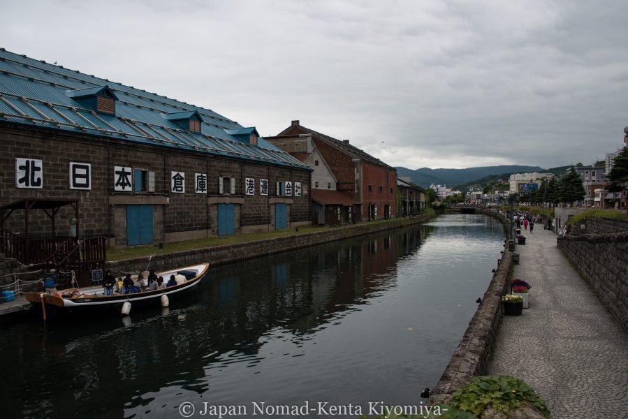 【旅64日目】小樽で食べ歩き観光を満喫の1日